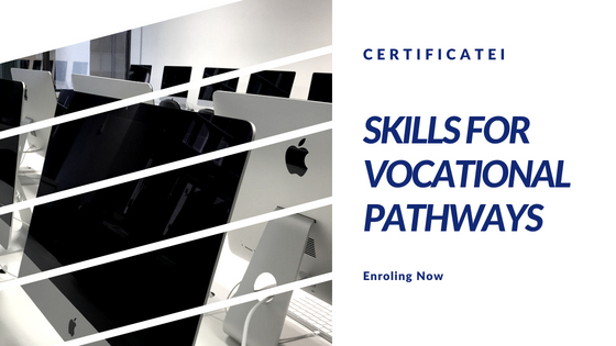 Study CERTIFICATE I IN SKILLS FOR VOCATIONAL PATHWAYS in Brisbane ...